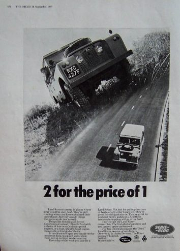 1967_advert 2 for the price of one