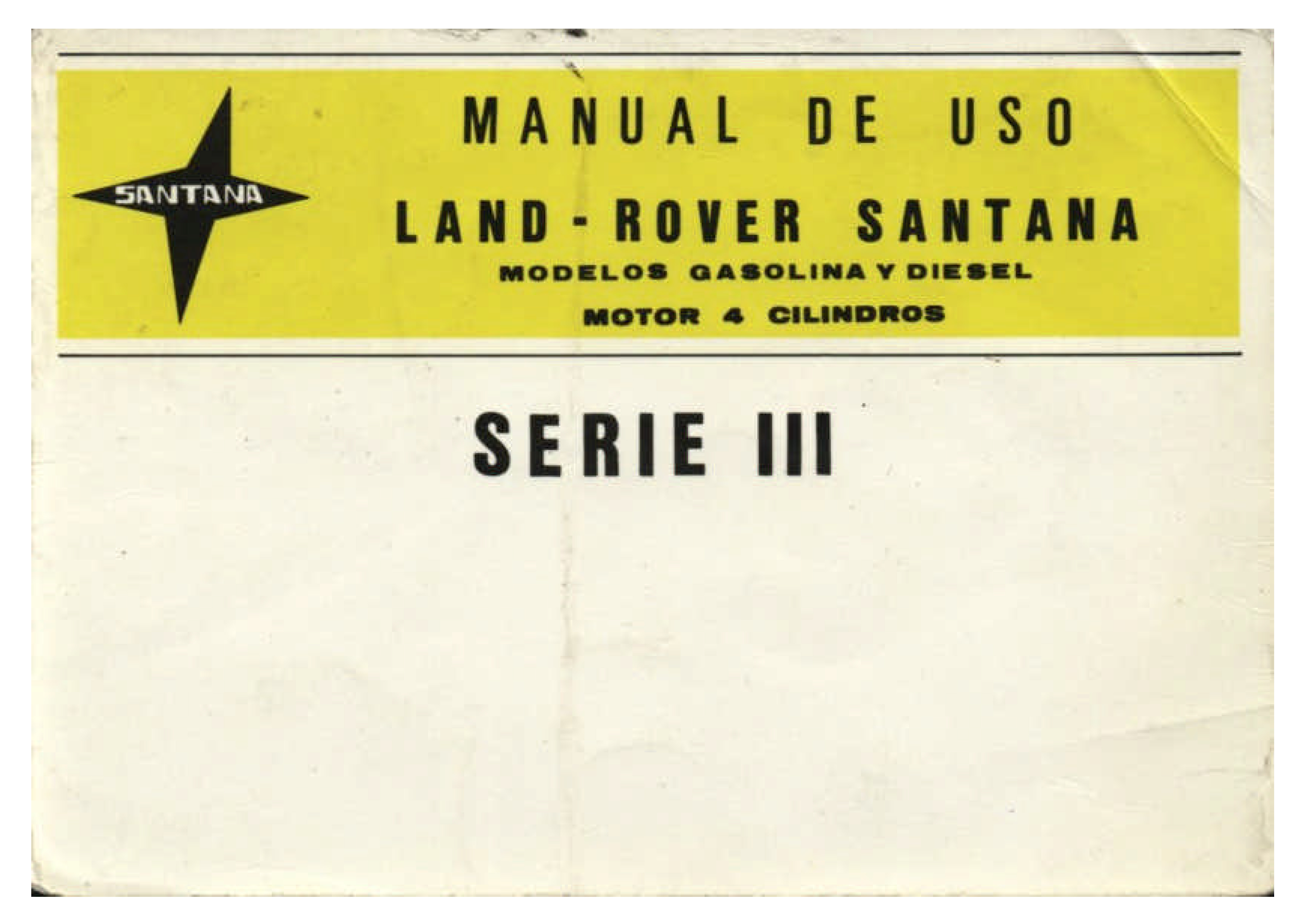 manual land rover cazorla 6 cilindros